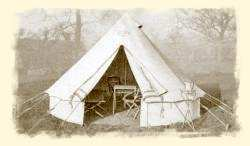Ridge Tent Bell Tent & Re-enactment tents and marquees from Abbey Tent Services Ltd